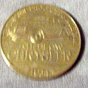 SOLD Chrysler - Century of Progress Chicago Fair 1924 -1934 Token