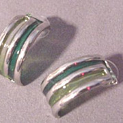 Stained Glass Design Earring # 2