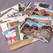 United States Post Cards c.1960's