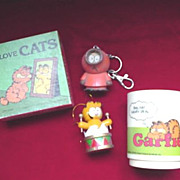 Garfield Cartoon Items - Mug - Puzzle +