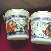 Halloween Glow-in -the Dark Candy Buckets - Advertising