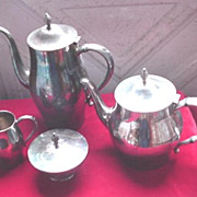 Paul Revere Silverplate Coffee /&Tea Service
