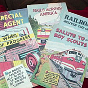 Railroad Comics - c.1950's