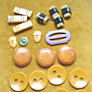 Bakelite Buttons