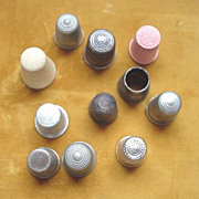 Sewing Thimbles - Vintage