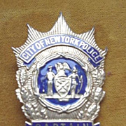 SOLD City of New York Police Badge - Captain