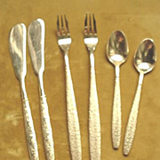 Butter Knives; Olive Forks & Demi-Tasse Spoons