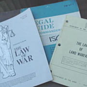 Department of the Army Law Manuals