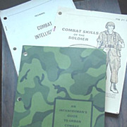Army Combat Manuals