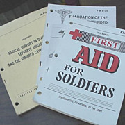 Army Manuals First Aid