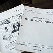 Army Manuals Assault Weapons and Mines