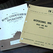 Army Manuals Mines