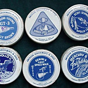 American Achievements in Space Lids