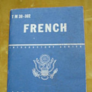 French Language Guide WW11 T M 30-302