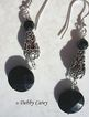 Bali Sterling Silver & Black Onyx Earrings