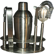 SALE Metal shaker bar set with tools