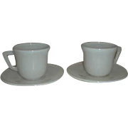 Hazel Atlas Demitasse Child cup & saucer