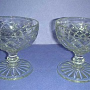 Two Waterford Sherbet glasses