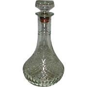 EAPC Pineapple pattern Captains Decanter