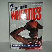 SALE Michael Jordon Wheaties Unopened Cereal Box