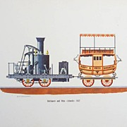 Train Lithographs - Vintage Prints of  Vintage Trains.