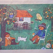 Vintage Children's Art from the 60's