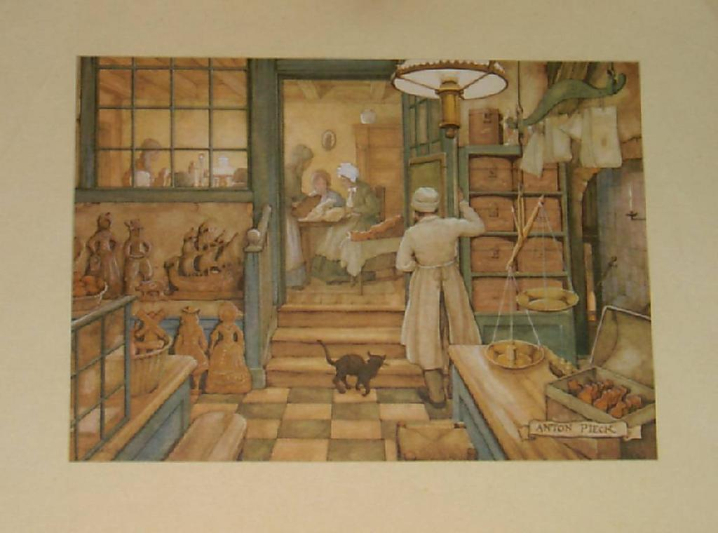 Bakery by Anton Pieck