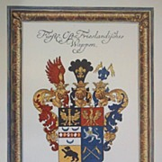 German Coat of Arms-Emden Germany