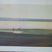Seascape Lithograph by Wagner