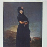 Goya-Portrait of the Marquesa de las Mercedes