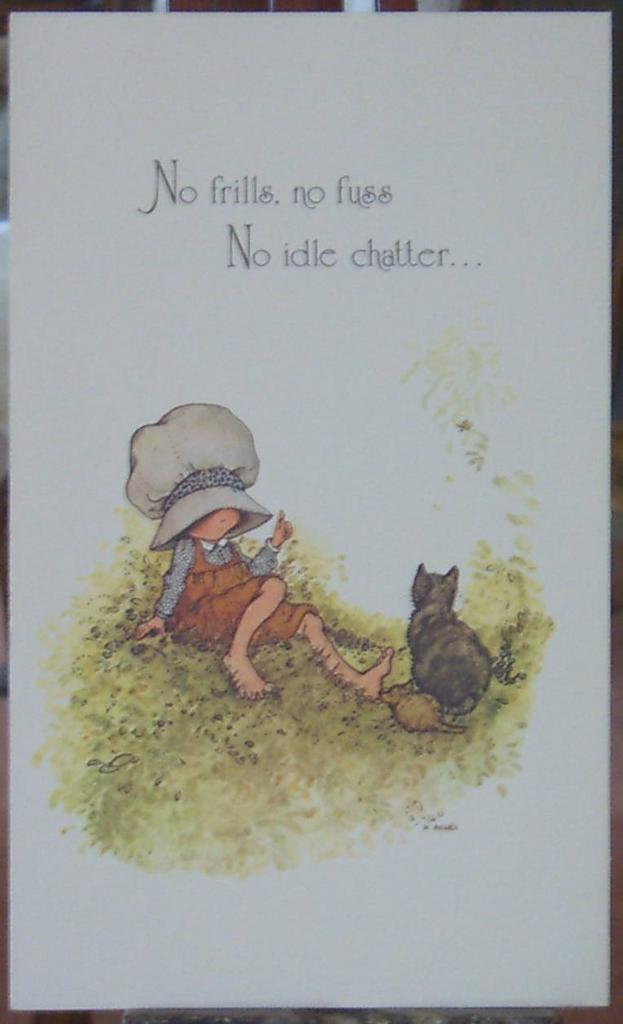 Holly Hobbie Greeting Cards Vintage From Carolines
