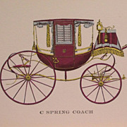 Cars-Vintage Travel Coaches-Buggy-Brett-Barouche-Coupe Rockaway-Transportation