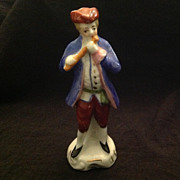 Occupied Japan figurine Man playing flute