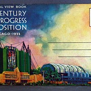 1933 Chicago Century of Progress Exposition Official View Book