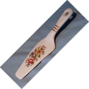 Vintage china pie or cake server.