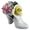 Crown Royal Bone China Flowers in a Shoe