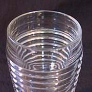 Crystal Manhattan Tumbler  10 oz Footed Tumbler