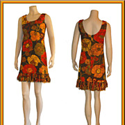Vintage 1960�s Mini Dress by Gilmore