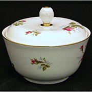 REDUCED Rosenthal Selb Germany Trinket Box or Dresser Dish with Lid, Helena Roses
