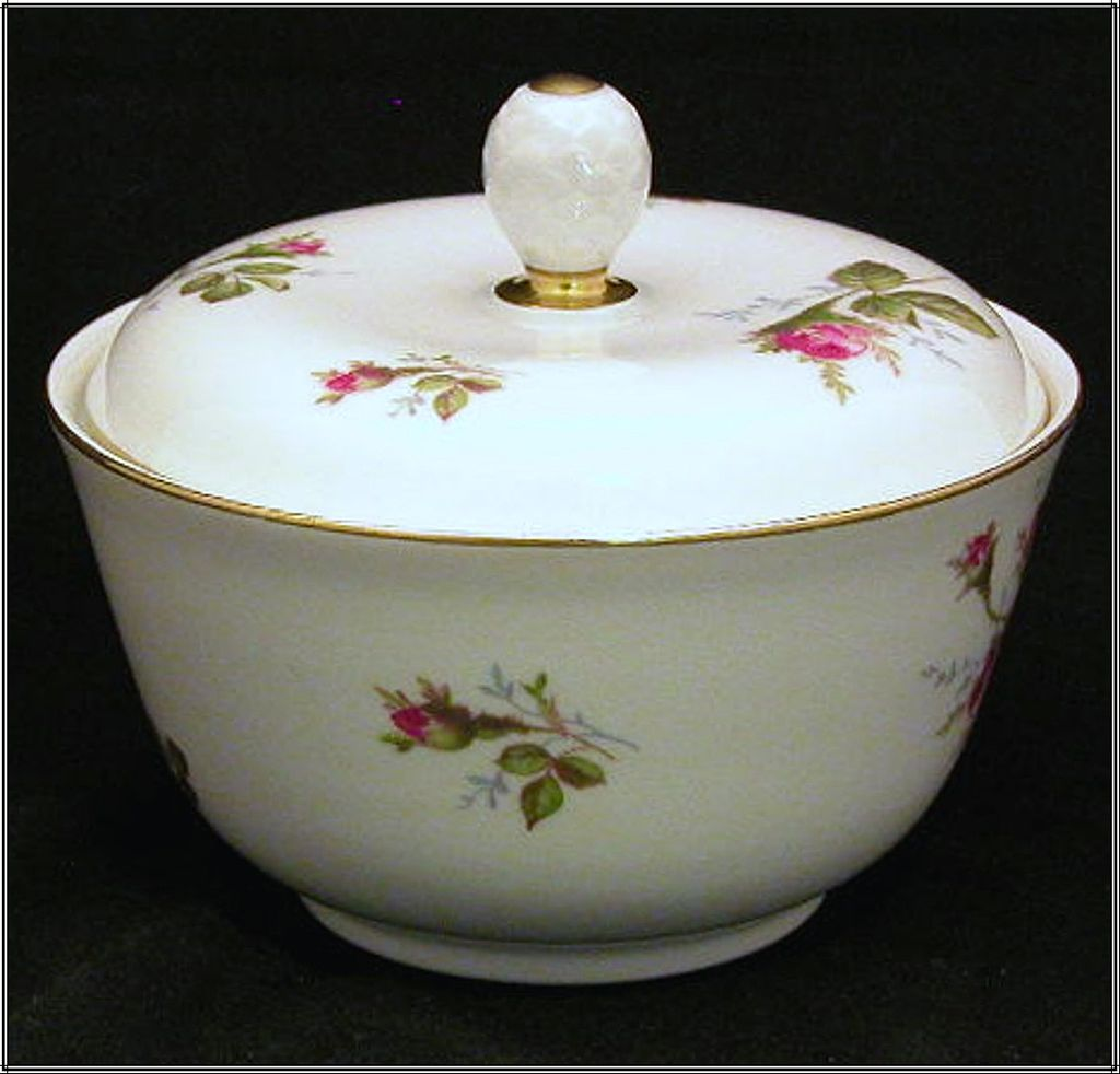 Rosenthal Selb Germany Trinket Box or Dresser Dish with Lid, Helena Roses