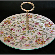 REDUCED Minton Haddon Hall Round Serving Plate by John Wadsworth