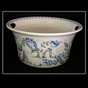 Turi-Design Lotte Casserole Dish, Hand-Painted Silkscreen