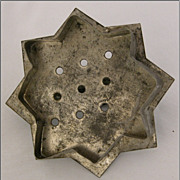 Vintage Flat Back Cookie Cutter  8-Point Star