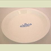 "Corning Ware 9"" Pie Plate Cornflower Blue P-309 Pan Dish"