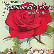 1939 Golden Jubilee Pasadena Tournament of Roses Program