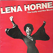 Lena Horne Souvenir Program, The Lady and Her Music, 1981-82