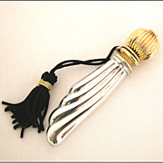 Sterling Silver & Gold-Plated Perfume Bottle
