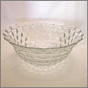 Fostoria American 14 Punch Bowl