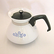 Corning Ware Cornflower 6 Cup Tea Pot