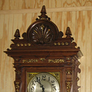 REDUCED Large Lenzkirch Wall Clock